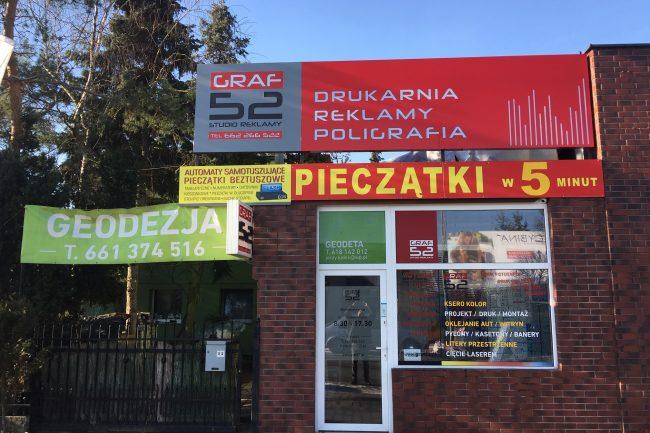 Ulotki Reklamowe Drukowanie Dąbrówka Graf52 Banery